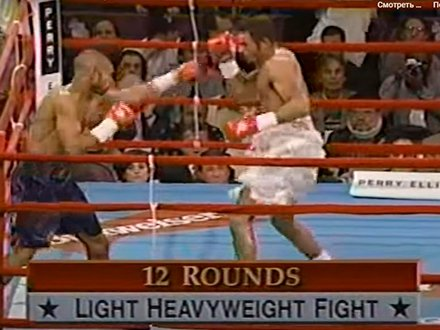 Roy Jones vs. Merqui Sosa fight photo